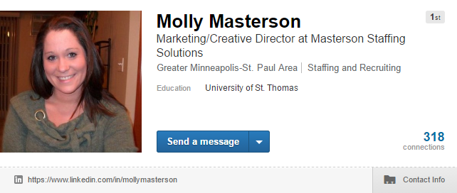 Linkedin Headline Optimization from Masterson Staffing