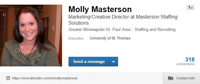 Linkedin Headline Optimization from Masterson Staffing